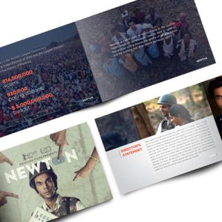 """Film """"Newton"""" Press Brochure"""