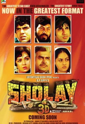 Sholay 3D